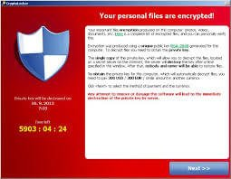 sequestro digital ransomware