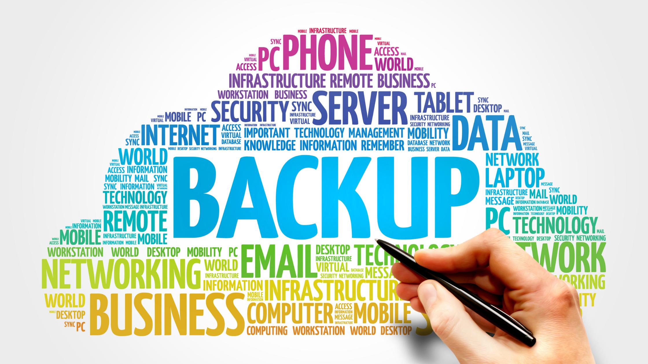 Procedimento de backup