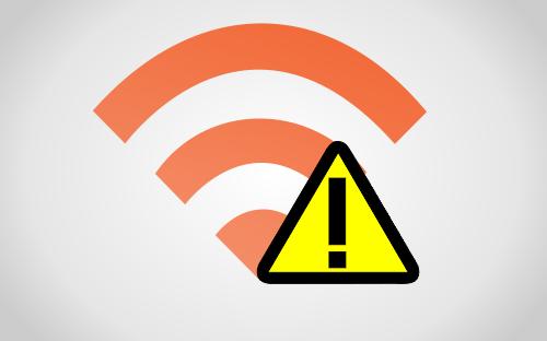 Wi-Fi Caindo
